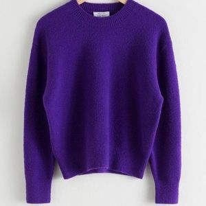 NWT - Soft Purple Relaxed Fit Sweater
